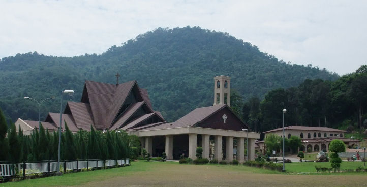 The new Church complex.