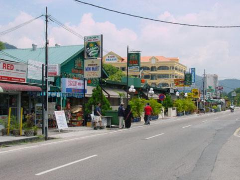 De hoofdstraat.....