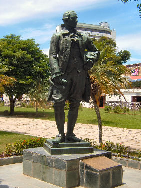 Statue of Sir Francis Light