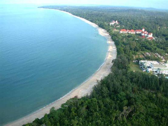 Desaru 22 km of beach in Malaysia