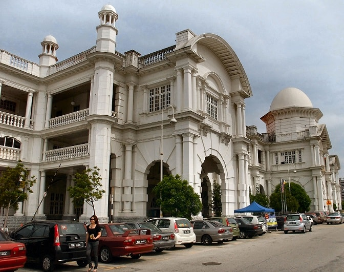 the Railway Station Ipoh