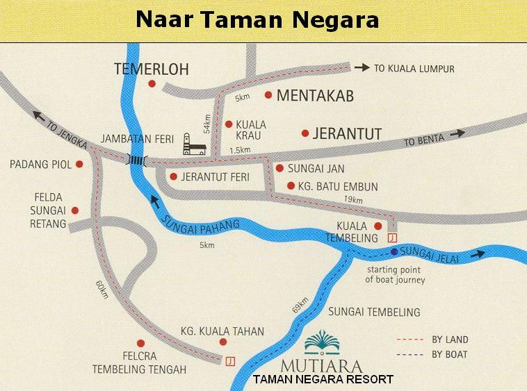 How do I get to Kuala Tembeling, because I want to go to Taman Negara!