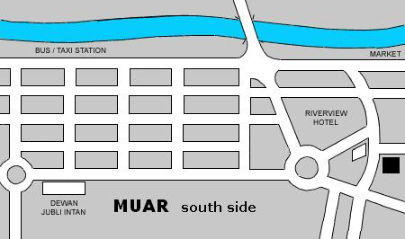 Map of Muar