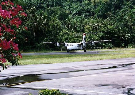 Luchthaven Tioman